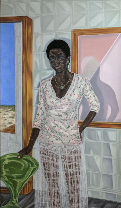 Toyin Ojih Odutola, 'Pregnant', 2017