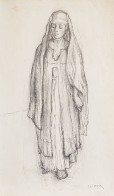 Henry Ossawa Tanner, 'Untitled (Study for Return of the Holy Women)', ca. 1904