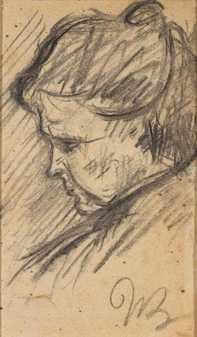 Umberto Boccioni, 'La madre di profilo', 1907-1908