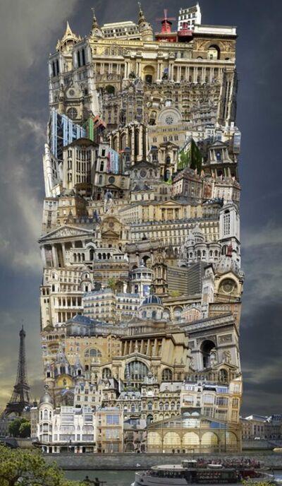 Jean-François Rauzier, 'Babel 34 Paris ', 2016