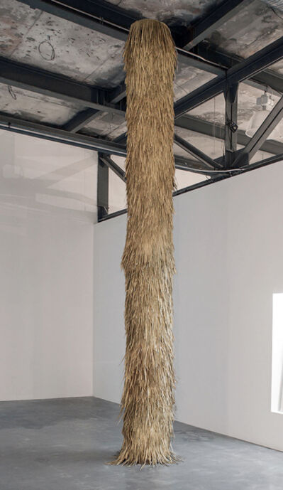 Rometti Costales, 'woven palm leaves', 2016