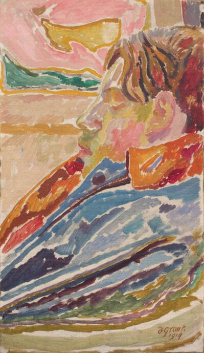 Duncan Grant, 'David Garnett in Proflie', 1915