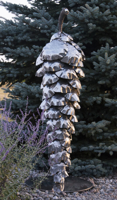 Floyd Elzinga, 'Balance, Pine Cone', 2019
