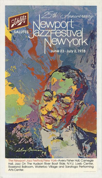 LeRoy Neiman, 'Newport Jazz Festival 1978', 1978