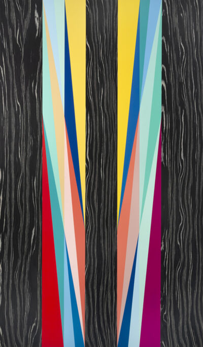 Odili Donald Odita, 'Dark Angel', 2020