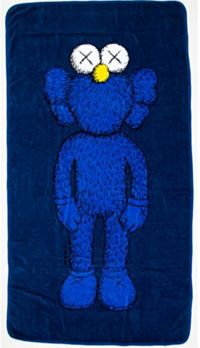 KAWS, '67 inch BFF 100% Cotton Wall Hanging/Beach Towel', 2016