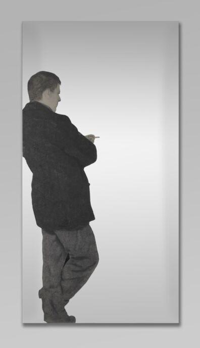 Michelangelo Pistoletto, 'Person Leaning (Persona appoggiata)', 1963-1964
