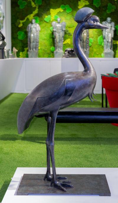 Daniel Daviau, 'Black Crowned Crane', 2019