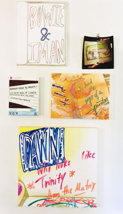 Malado Baldwin, 'Books about Love (painting suite)', 2020