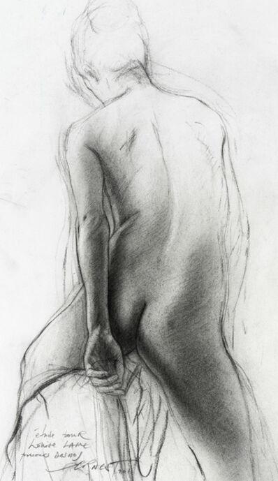 """Ernest Pignon-Ernest, 'Parcours Desnos, """"Louise Lame"""" IV', 2011"""