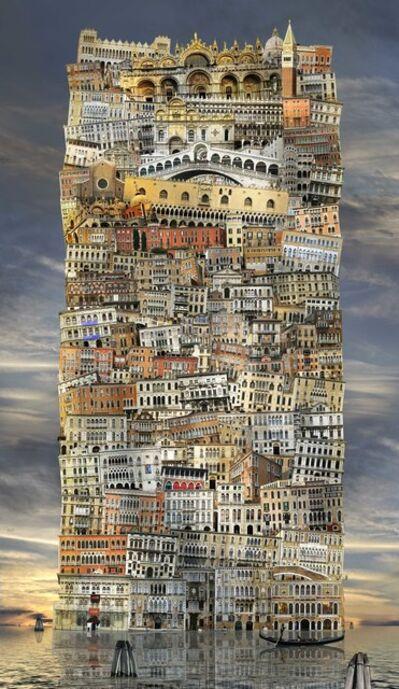 Jean-François Rauzier, 'Venise Babel 42 ', 2017