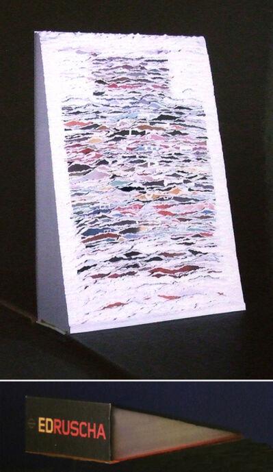 Buzz Spector, 'My Ruscha (book)', 2001