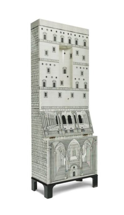 Piero Fornasetti, 'Architettura Trumeau Bar'
