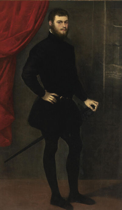 Jacopo Tintoretto, 'Portrait of Nicolò Doria'