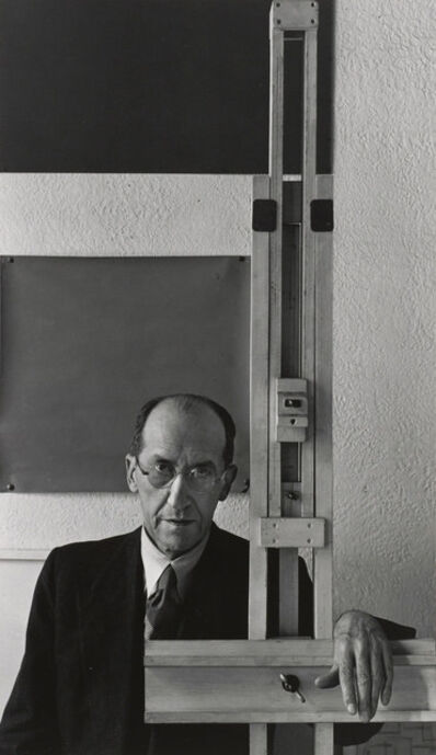 Arnold Newman, 'Piet Mondrian, New York City', 1942