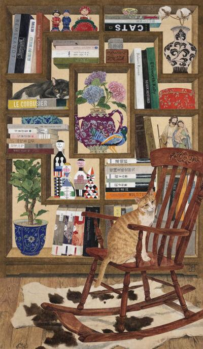 Lee Jung Eun (b. 1971), 'Bookshelf and stories 사유의 서가', 2020