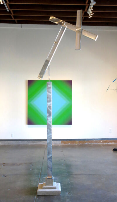 "Ken Bortolazzo, '""Triple Beam Variation II""', 2016"
