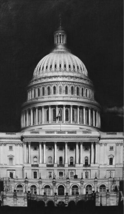 Robert Longo, 'Capitol Detail'
