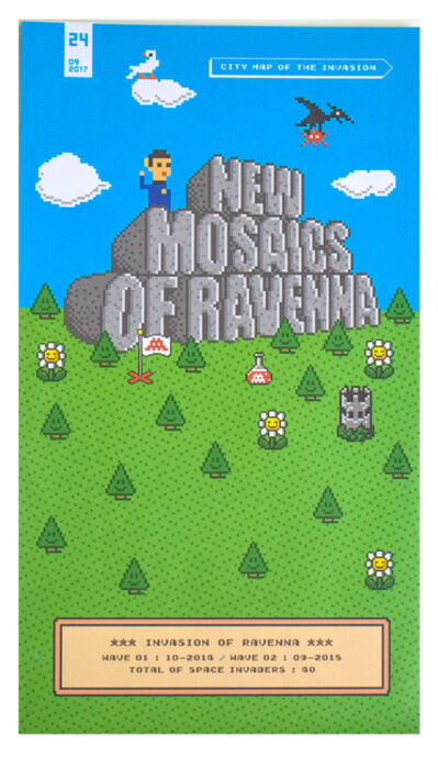Invader, 'NEW MOSAICS OF RAVENNA (Invasion of Ravenna Map) ', 2017