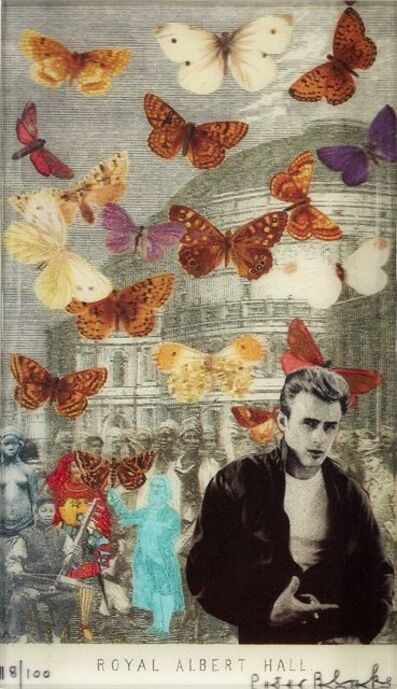Sir Peter Blake, R.A., 'James Dean at the Albert Hall', 2012