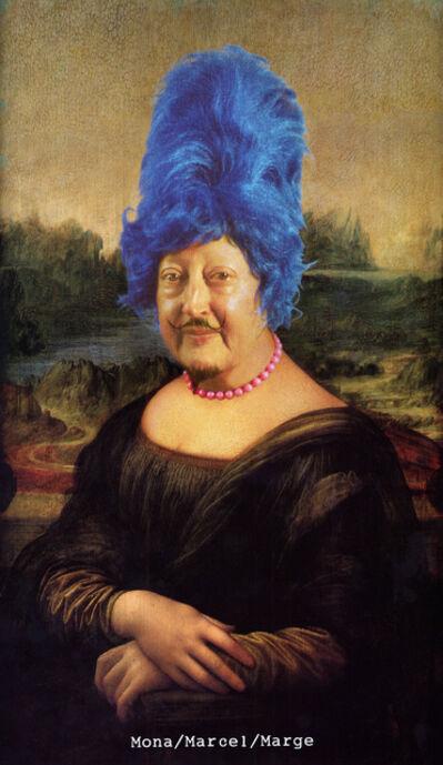 Martha Wilson, 'Mona/Marcel/Marge', 2014