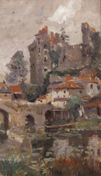 Colin Campbell Cooper, 'Chateau, Clisson, France ', Late 19th century