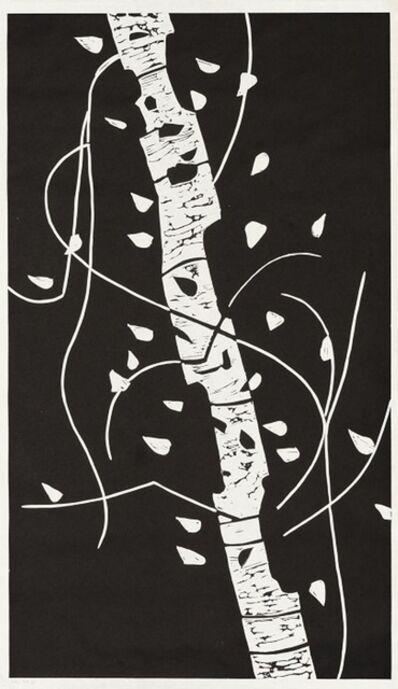 Alex Katz, 'Large Birch', 2004