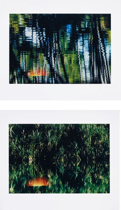 Axel Hütte, 'Sunset 1; and Sunset 2, from Double Exposure', 2002