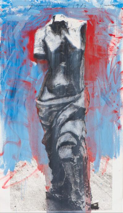Jim Dine, 'Silkscreen Venus (Red, White, and Blue Venus for Mondale)', 1983