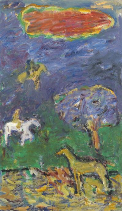 Pat Passlof, 'Untitled', 1995