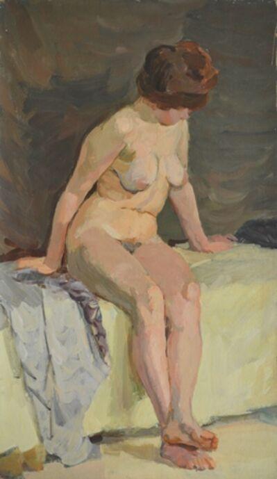 Valery Borisovich Skuridin, 'Nude', 1972