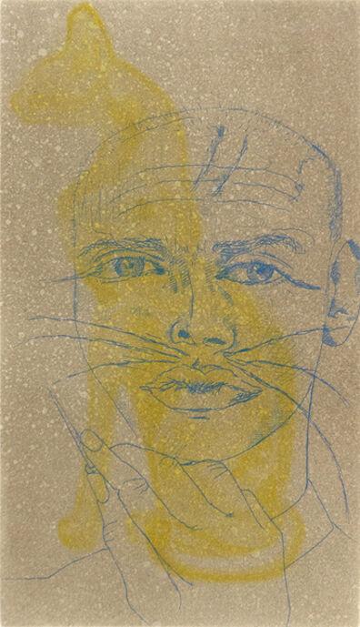 Francesco Clemente, 'Untitled (Self Portrait as a Cat)', 1999