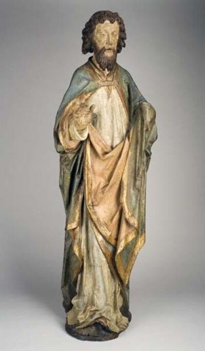 Henning von der Heide, 'Standing figure of a Saint or Apostle', ca. 1500-10