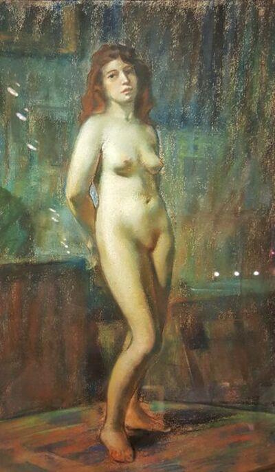 Marc-Aurèle de Foy Suzor-Coté, 'Nude (Mlle Bourassa)', 1890-1910