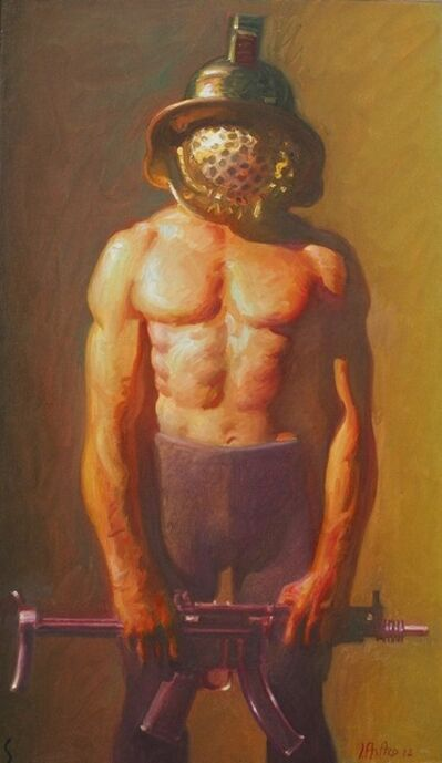 John Asaro, 'Spartacus the Portrait', 2020