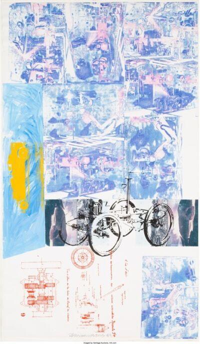 Robert Rauschenberg, 'Azure Reef (Renault Paper Work)', 1984