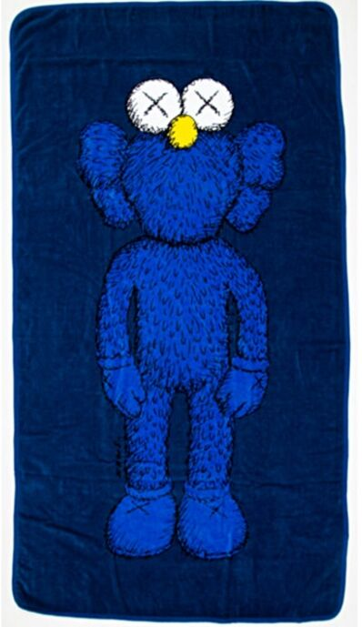 KAWS, 'BFF Limited Edition Oversized Beach Towel/Wall Hanging', 2016