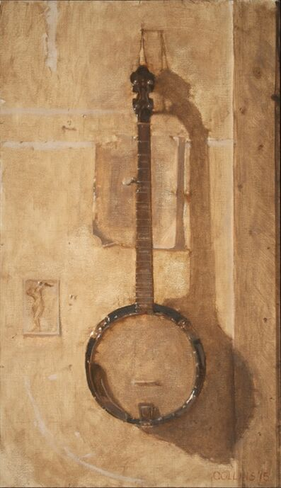 Jacob Collins, 'Study for Banjo with Drawing', 2015