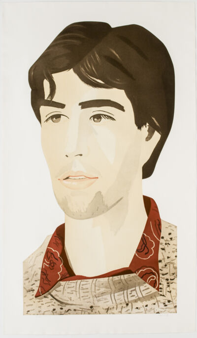 Alex Katz, 'Large Head of Vincent', 1982