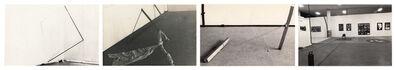 """Arte/Ação (Genilson Soares & Francisco Iñarra), 'Documentação da instalação """"Arqueologia do Urbano'' apresentadas na XIV Bienal Internacional de São Paulo, Brasil.', 1977"""