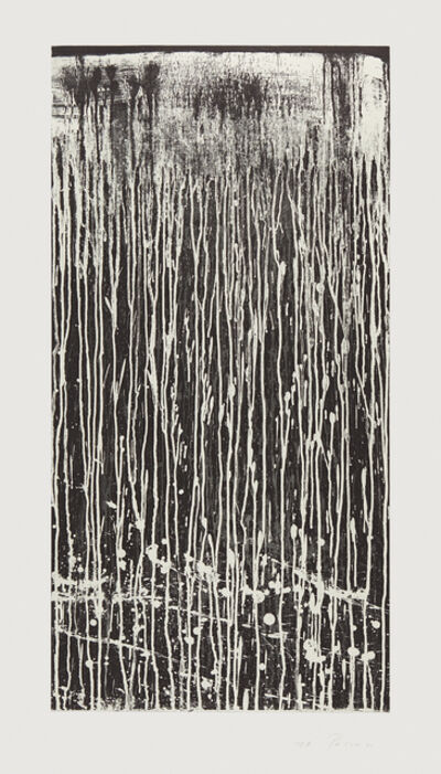 Pat Steir, 'Long Vertical Falls #4', 1991