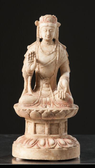 Unknown Asian, 'Seated Bodhisattva ', 550-577