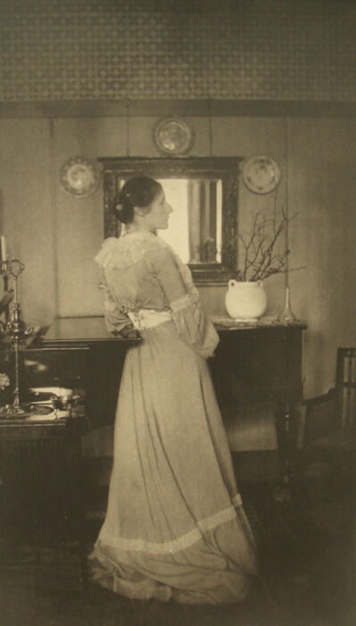 James Craig Annan, 'Portrait of Mrs. C., 1907', 1907