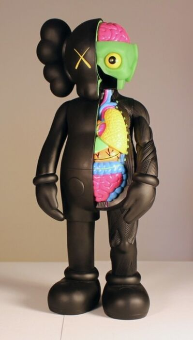 KAWS, 'Black dissected companion', 2006