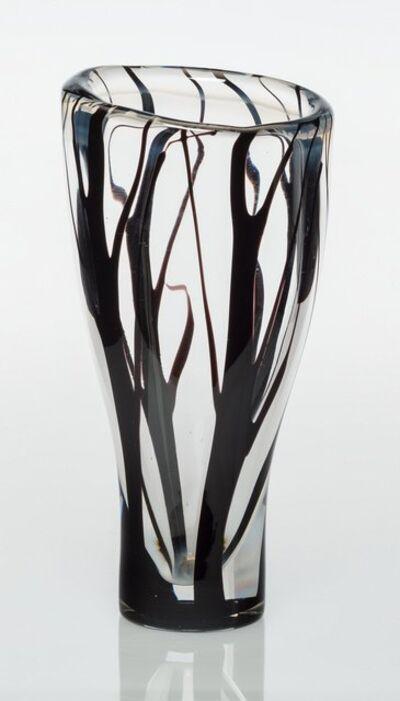Vicke Lindstrand, 'Trees in Mist Vase', circa 1950