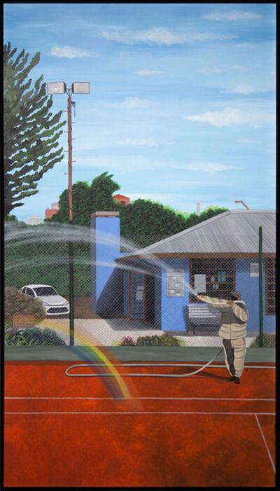 Martin Kazanietz (Gordopelota), 'Un canchero haciendo un arcoiris', 2020