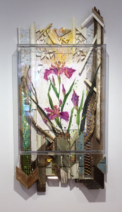 Nall, 'Purple Water Iris', 2012