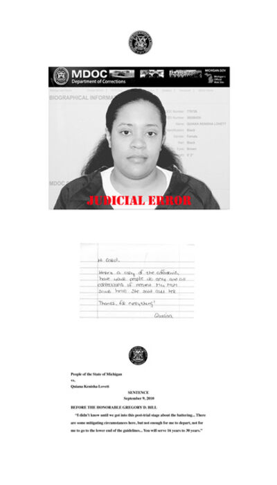 Carol Jacobsen, 'Letter of the Law: Quiana', 2019