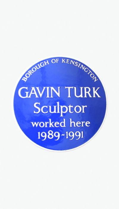 Gavin Turk, 'Cave', 1991