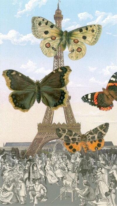 Peter Blake, 'Paris - Butterflies I', 2011